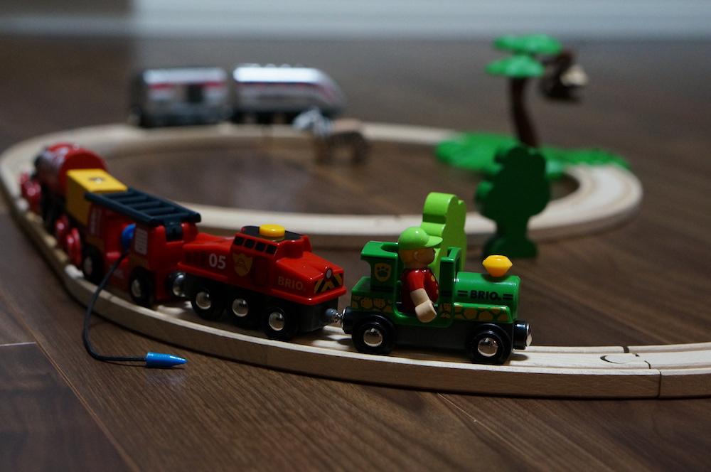 ブリオ 電車