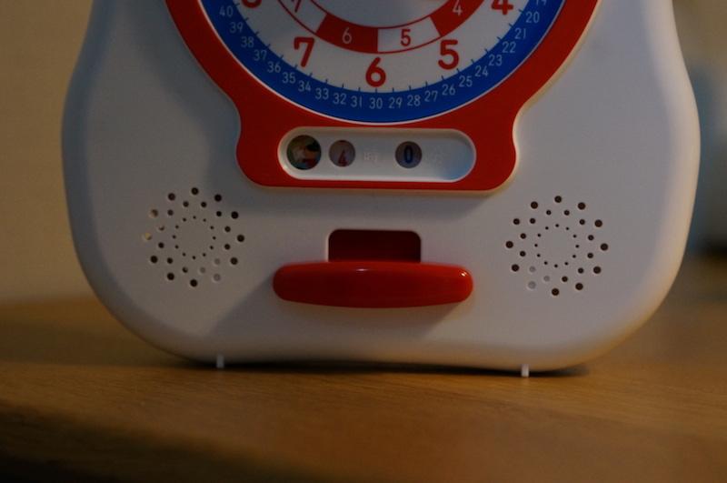 デジタル時計 読み方