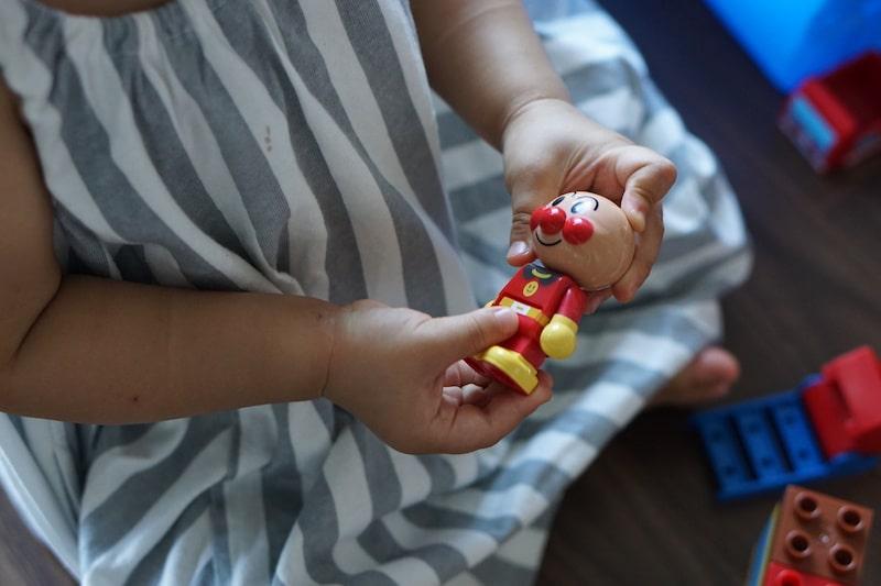 アンパンマン ブロック 人形