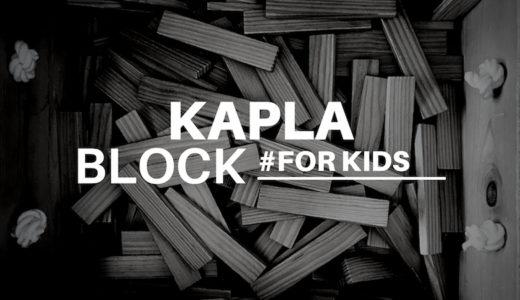KAPLA(カプラ)ブロックは何歳から?おすすめの遊び方を紹介!