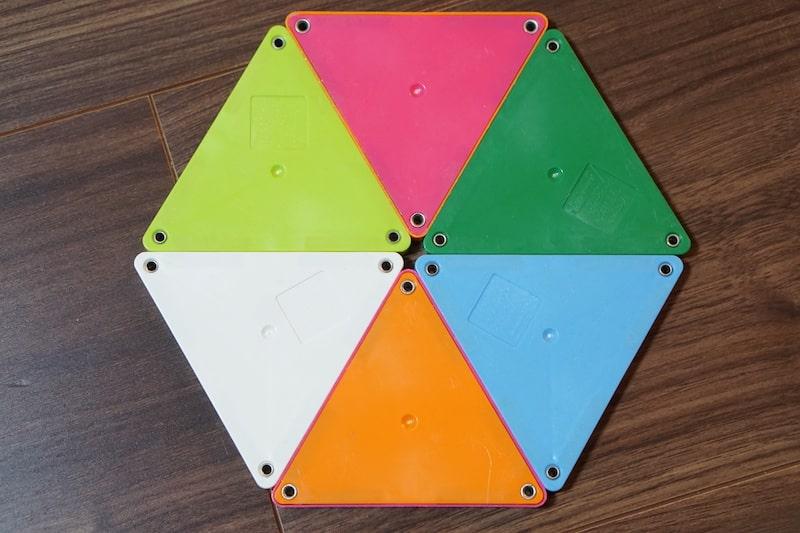 ピタゴラス 六角形
